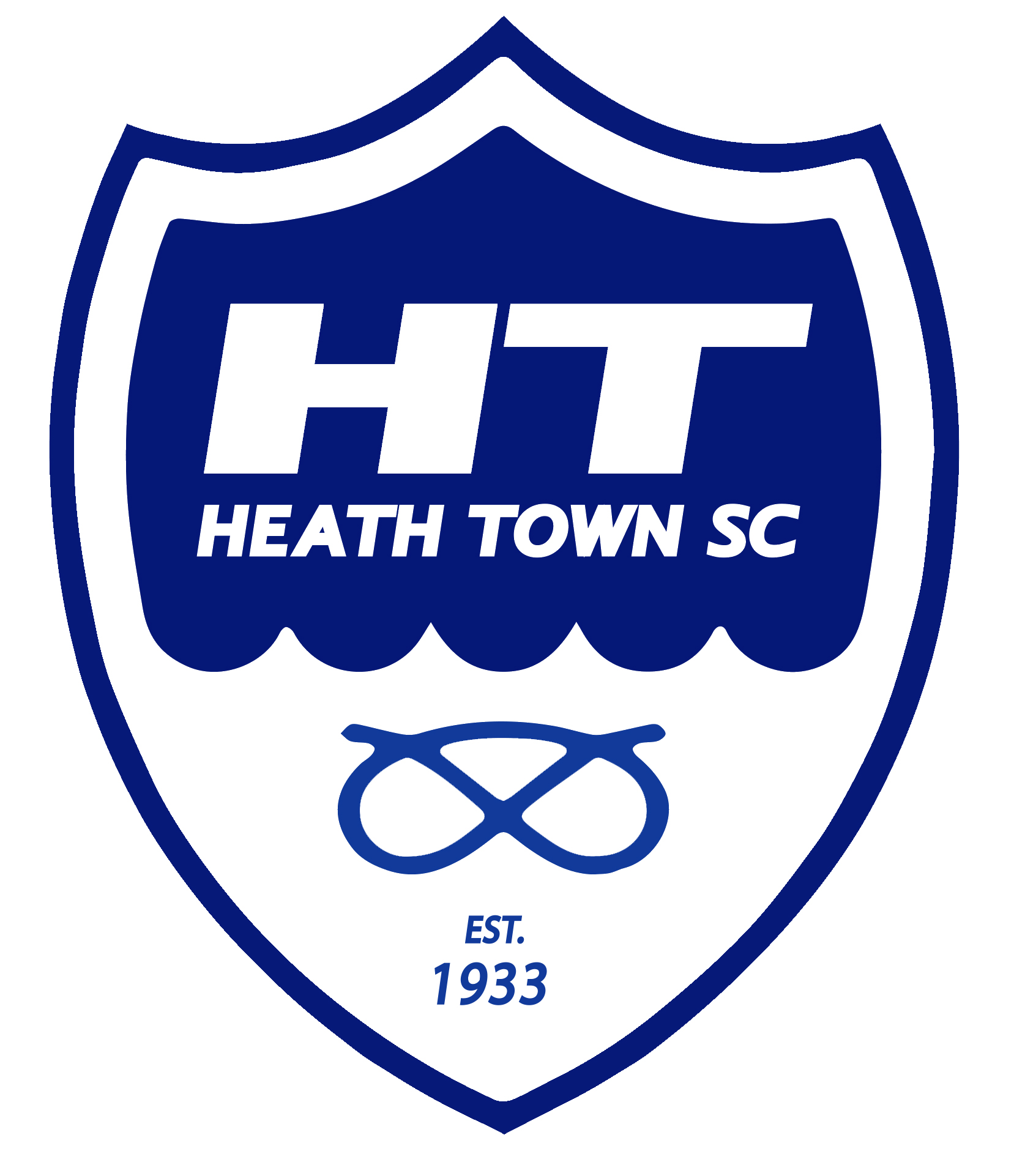 Heath Town Badge